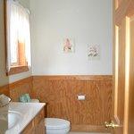 Downstairs bathroom in Chalet 1