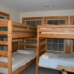 Downstairs bunkbeds in room 1