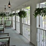 The Mill House Inn Front Porch