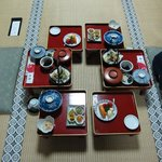 Dinner at Shojoshin-in buddhist monastery