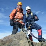 Me and the guide Gary at the summit of illiniza norte