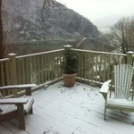 view from snow covered deck 2