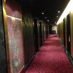 signature room hallway