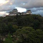 和歌山城が良く見える。
