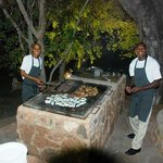 Our super friendly cooks - Hotel Staff.