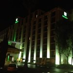 Holiday Inn at night