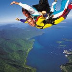 Tandem skydiving from up to 14,000ft