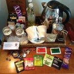 complete tea set