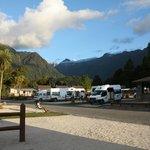 powered campervan site