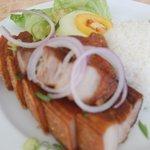 Yummy huge lunch at Plantation Bay