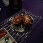 Backed Eggplant stuffed with Cheese and shrimp..didn't like it!