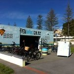 The Fishbike shed