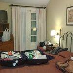 Taille de la chambre et mobilier spartiate