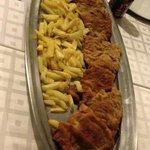 Riquísima Milanesa con Patatas