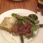greek style lamb... i strongly advise it with green salad.... just go there and choose one of th
