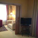 Suite 234 Wohn/Schlafbereich