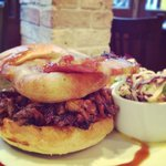 Special of the month: pulled pork burger