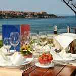 fantastic sea view from the restaurant`s terrace