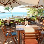 restaurant`s terrace