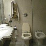 Bathroom basin and loo