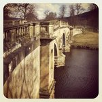 On our walk to Chatsworth House from BnB