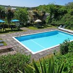 Our lovely heated swimming pool