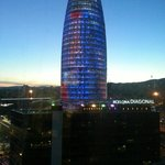 View from room 1515 Torre Agbar