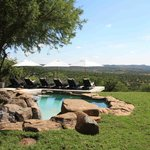 Nambithi Hills pool area and view