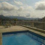 Zwembadje op het dakl