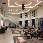 Entry lobby to hotel