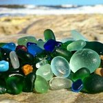 seaglass from Seaham beach