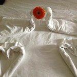 bedroom origami!