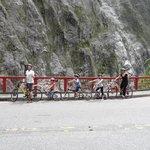 Biking the Taroko Gorge