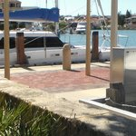 Mindarie harbour from outside seating