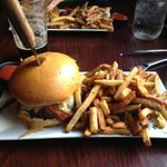 The Smoke Burger with Duck Fat Fries