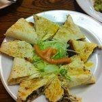Chicken and Steak combo quesadilla