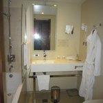 salle de bains hôtel telegraaf