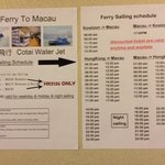 Discounted ferry prices