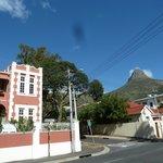 Sunny day at Seapoint's Villa Rosa