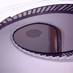 magnificent elliptical staircase