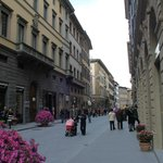 Situated on street with prime shopping (Gucci, Prada, Burberry, etc)