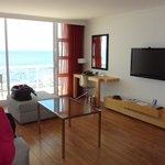 Zimmer 0209 und Aussicht aufs Meer