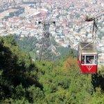 Bursa city view from the Telefrik