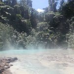 Hot spring near Walindi