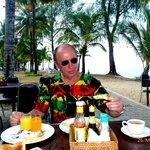 śniadania pod palmami