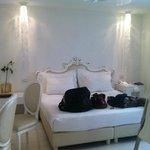 camera da letto con cabina doccia