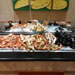 "1/2 of the Seafood Bar at the Maya Seafood/Buffet ""La Marina"""