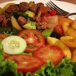 Vietnamese shaking beef