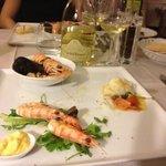 cena romantica con Andrea