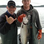 Brian's first King Salmon